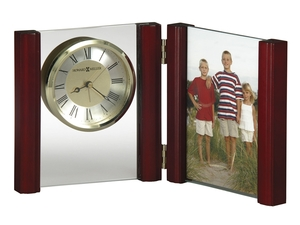 Thumbnail of Howard Miller Clock - Alex Rosewood Table Top Clock