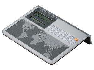 Thumbnail of HOWARD MILLER CLOCK CO - Atlas World Clock & Calculator