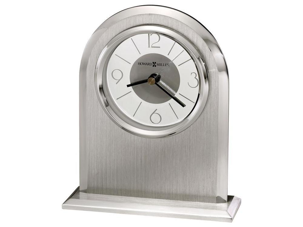 Howard Miller Clock - Argento Table Top Clock