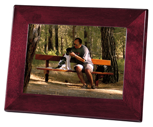 Thumbnail of Howard Miller Clock - Rosewood Picture Frame II