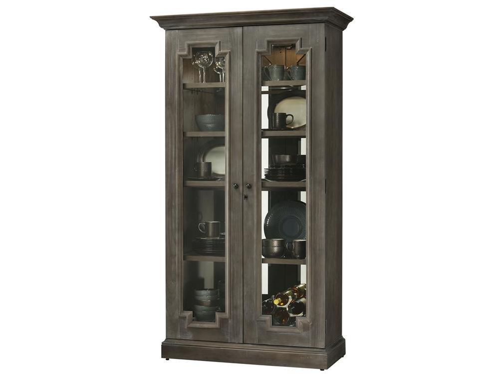 Howard Miller Clock - Chasman Curio Cabinet
