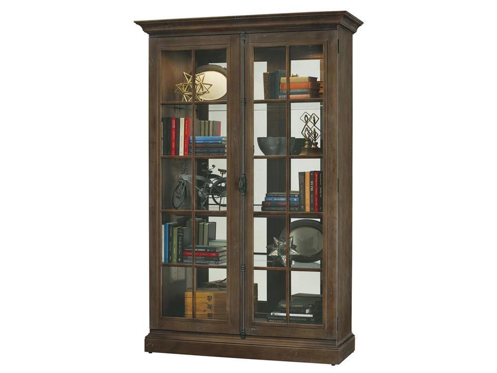 Howard Miller Clock - Clawson Curio Cabinet