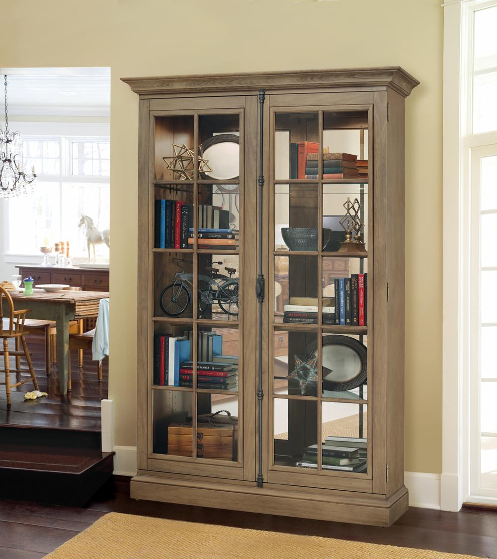 Howard Miller Clock - Clawson II Curio Cabinet