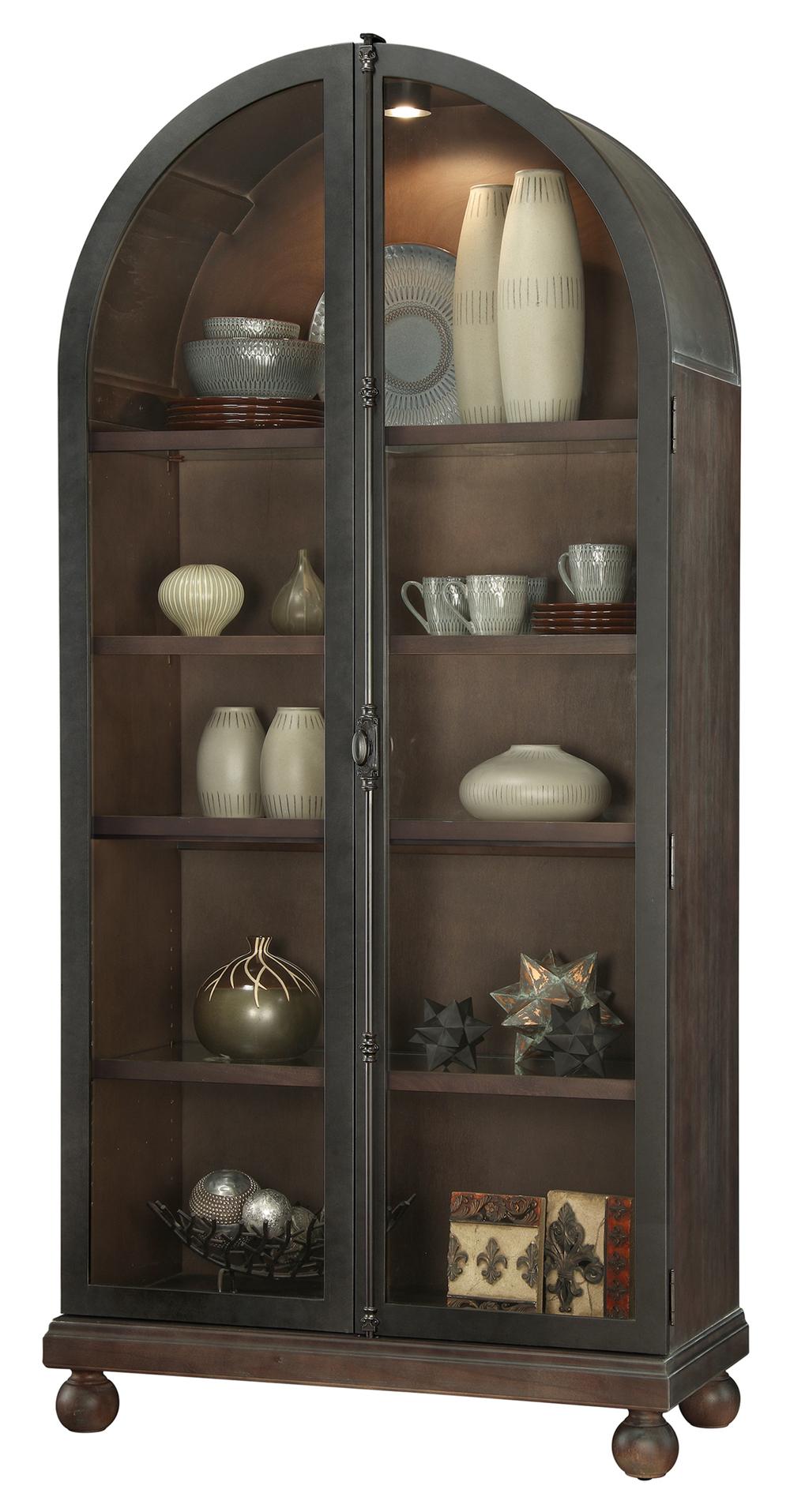 Howard Miller Clock - Naomi Curio Cabinet