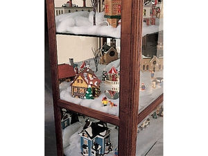 Thumbnail of Howard Miller Clock - Townsend Curio Cabinet