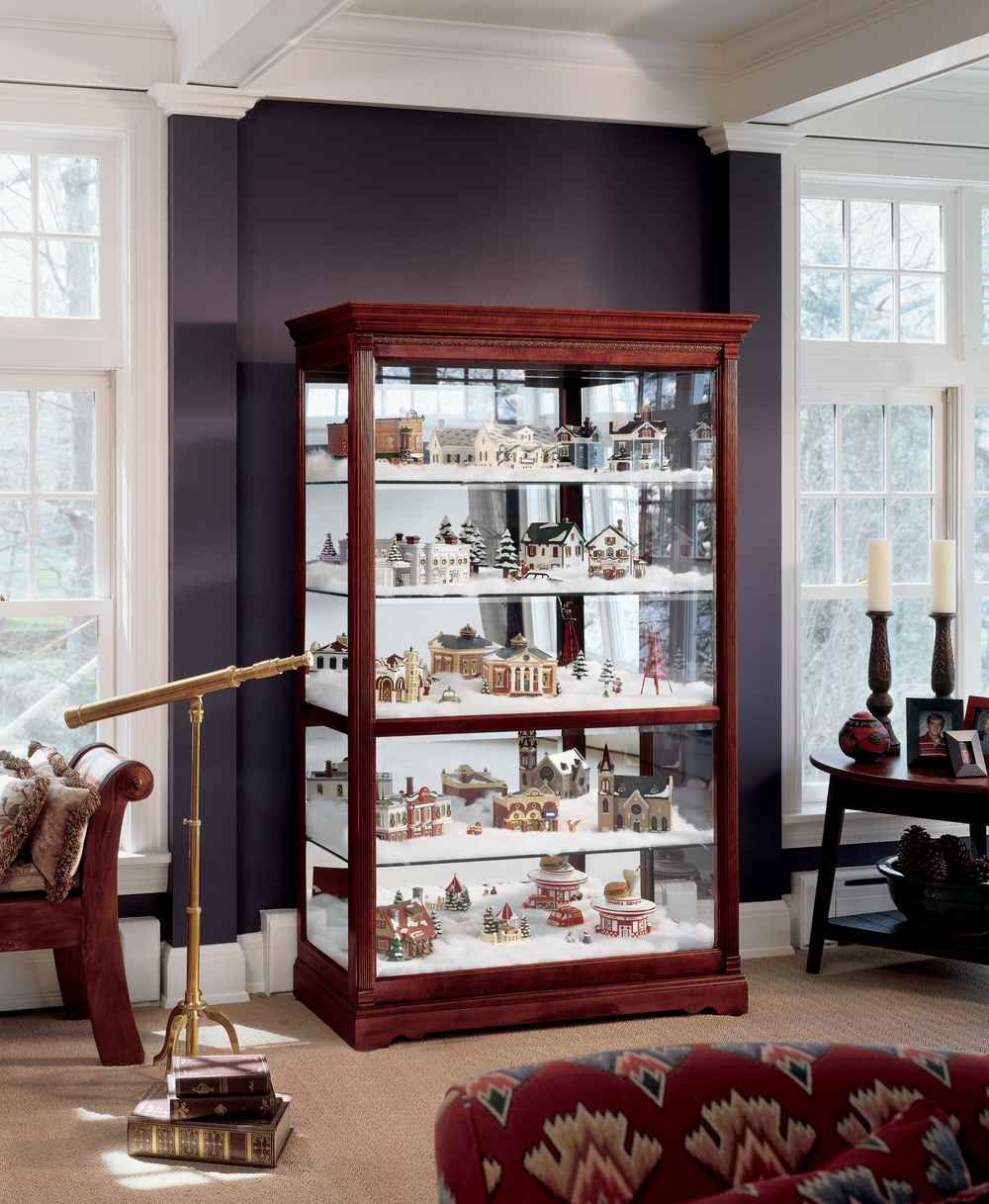 Howard Miller Clock - Townsend Curio Cabinet