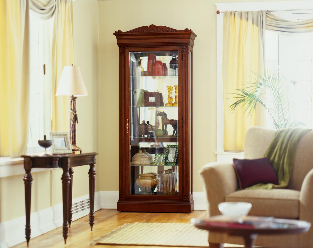 Howard Miller Clock - Embassy Curio Cabinet