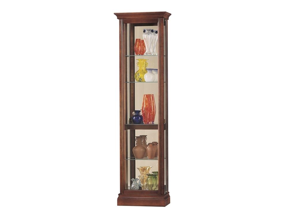 Howard Miller Clock - Gregory Curio Cabinet