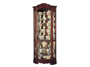Thumbnail of Howard Miller Clock - Jamestown Curio Cabinet