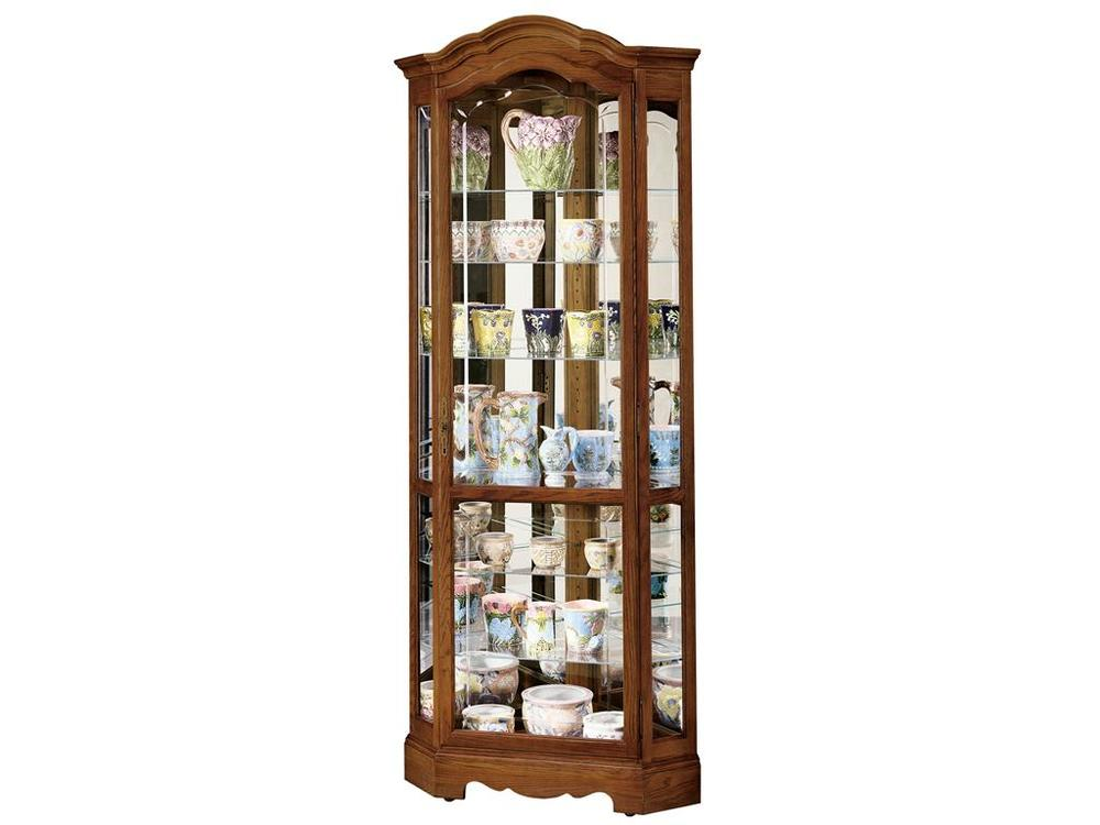 Howard Miller Clock - Jamestown II Curio Cabinet