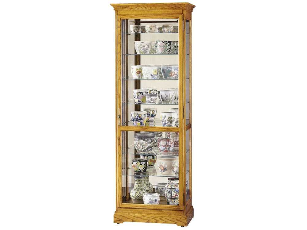 Howard Miller Clock - Chesterfield II Curio Cabinet