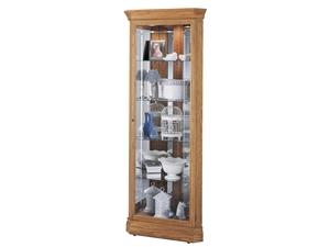 Thumbnail of Howard Miller Clock - Hammond Curio Cabinet
