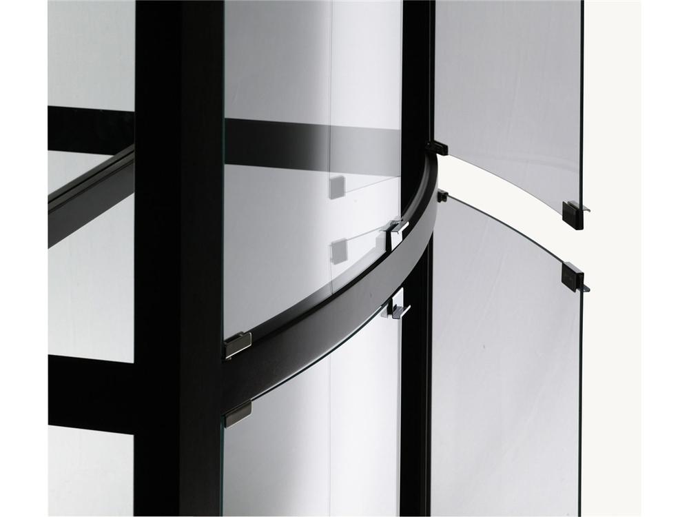 Howard Miller Clock - Bradington Curio Cabinet