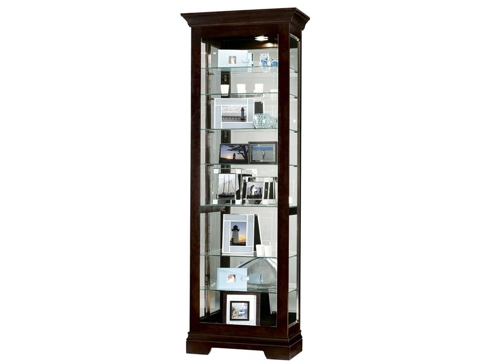 Howard Miller Clock - Saloman Curio Cabinet