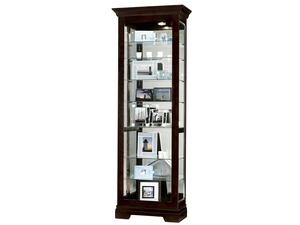 Thumbnail of Howard Miller Clock - Saloman Curio Cabinet