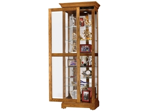 Thumbnail of Howard Miller Clock - Moorland Curio Cabinet
