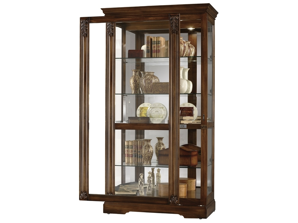 Howard Miller Clock - Andreus Curio Cabinet