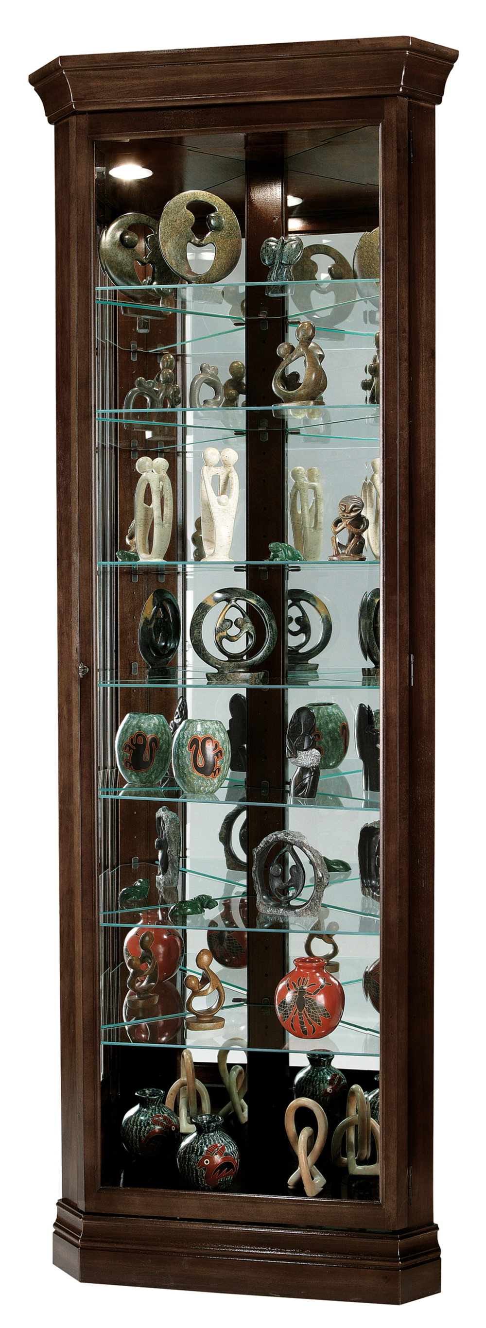 Howard Miller Clock - Dustin Curio Cabinet