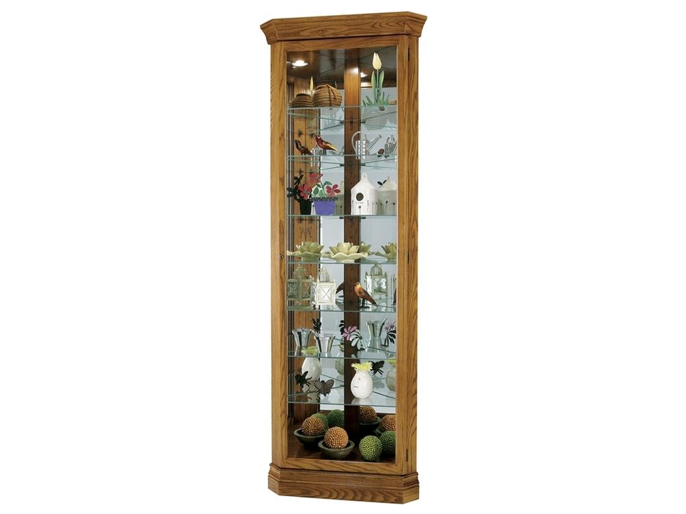 Howard Miller Clock - Dominic Curio Cabinet