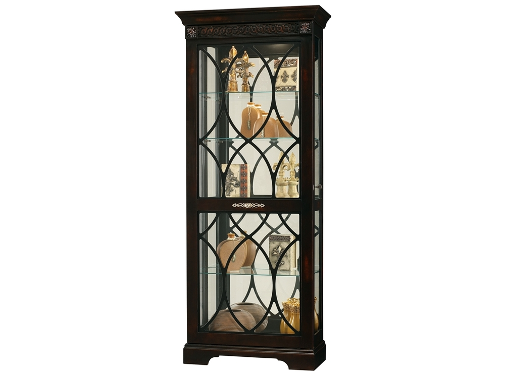 Howard Miller Clock - Roslyn Curio Cabinet