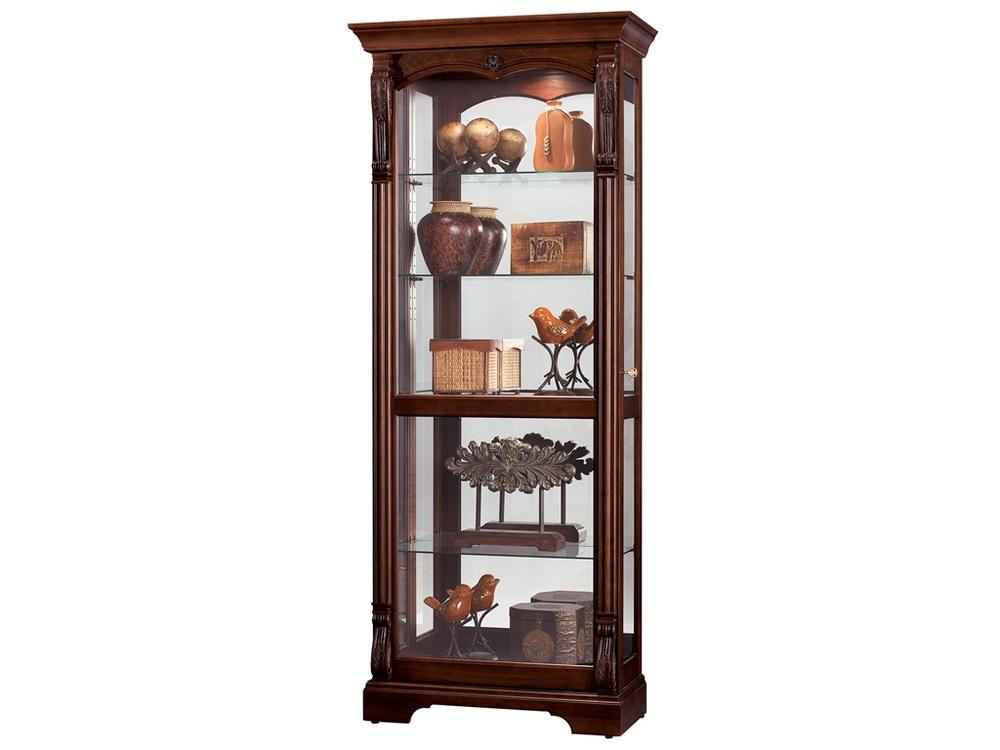 Howard Miller Clock - Bernadette Curio Cabinet