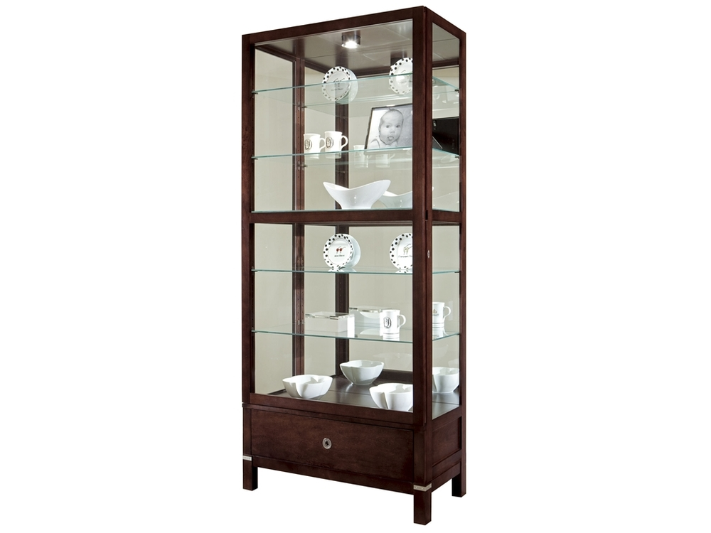 Howard Miller Clock - Williamson Curio Cabinet