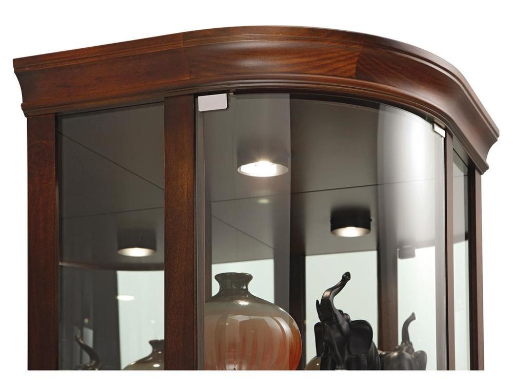 Howard Miller Clock - Marlowe Curio Cabinet