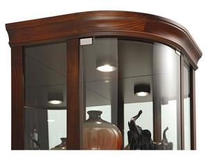 Thumbnail of Howard Miller Clock - Marlowe Curio Cabinet