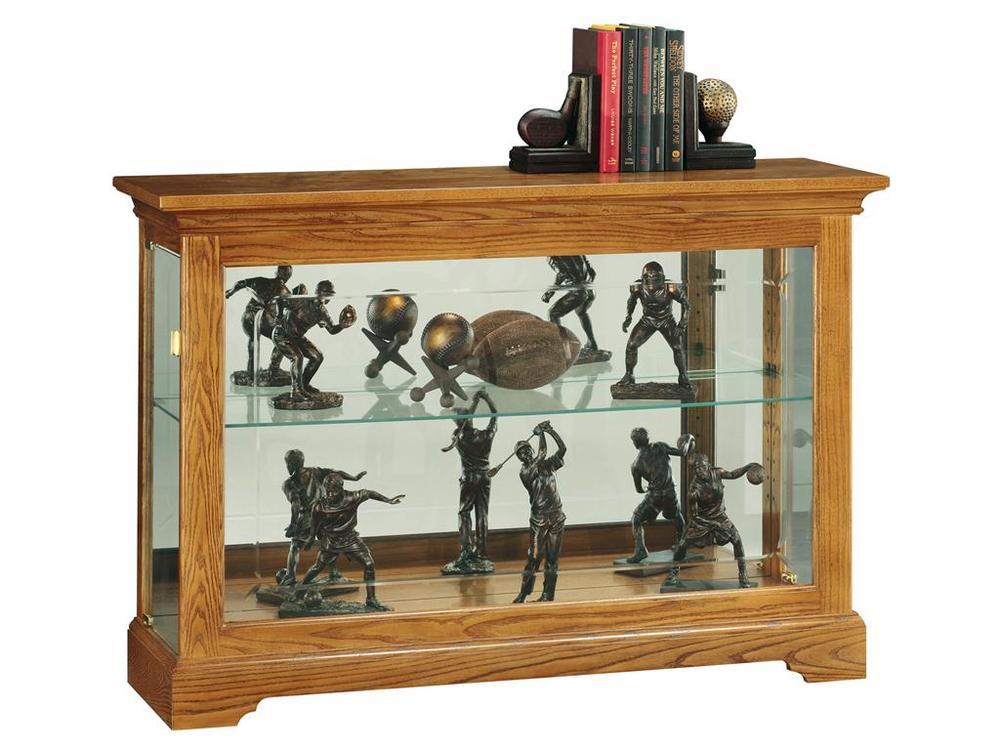 Howard Miller Clock - Burrows Curio Cabinet