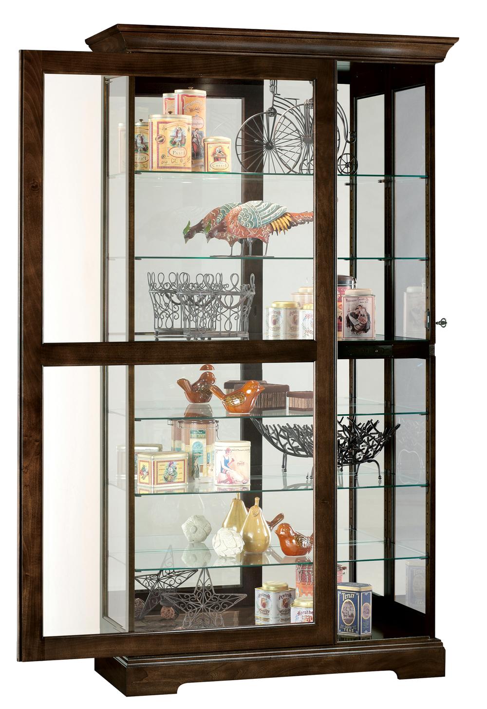 Howard Miller Clock - Tyler III Curio Cabinet