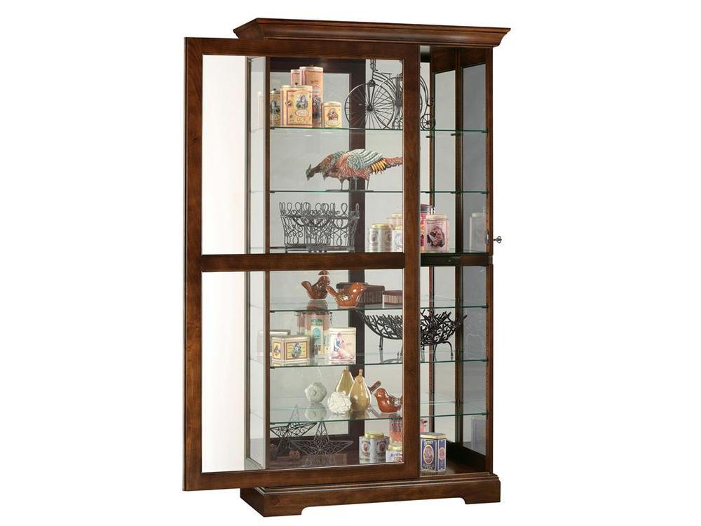 Howard Miller Clock - Tyler Curio Cabinet