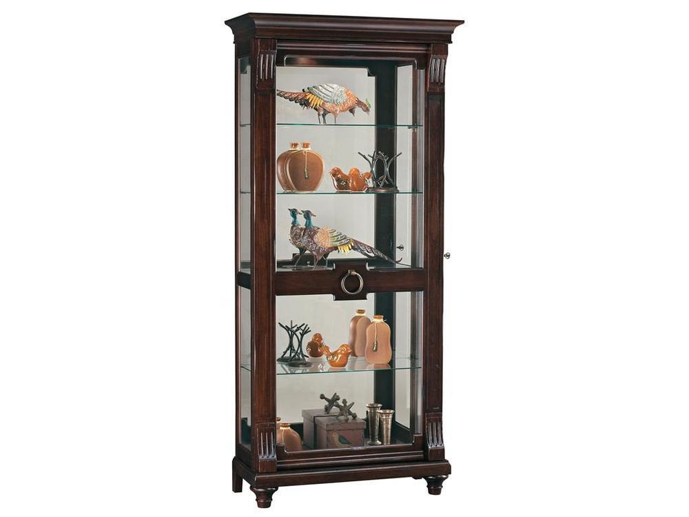 Howard Miller Clock - Brenna Curio Cabinet