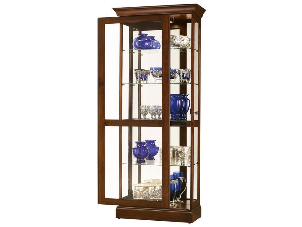 Howard Miller Clock - Berends IV Curio Cabinet