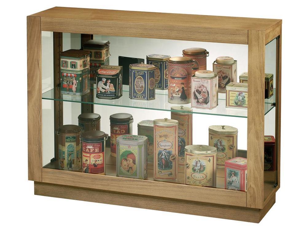 Howard Miller Clock - Marsh Bay Console Curio Cabinet