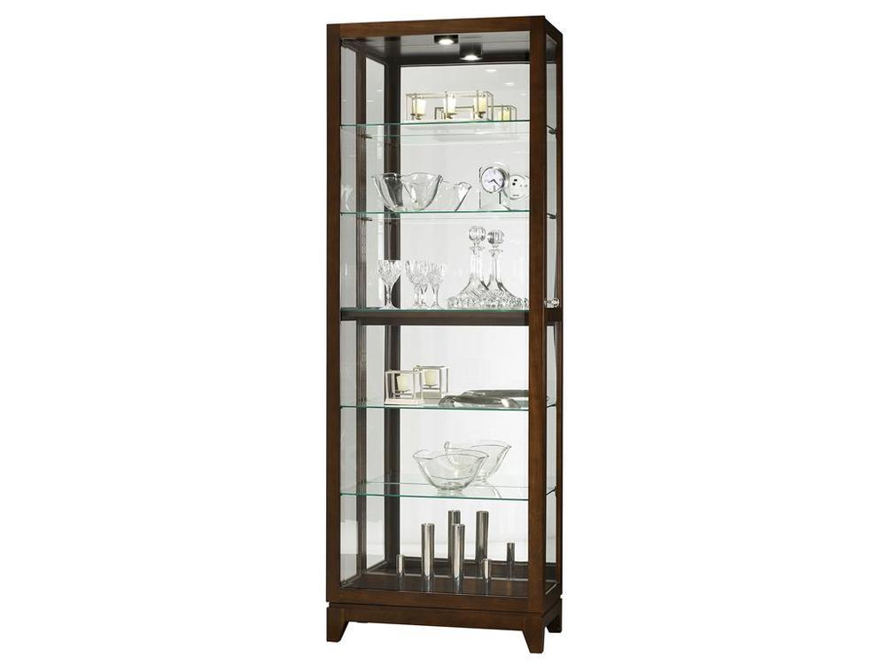 Howard Miller Clock - Luke Curio Cabinet