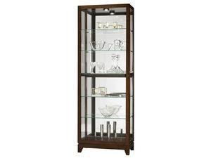 Thumbnail of Howard Miller Clock - Luke Curio Cabinet
