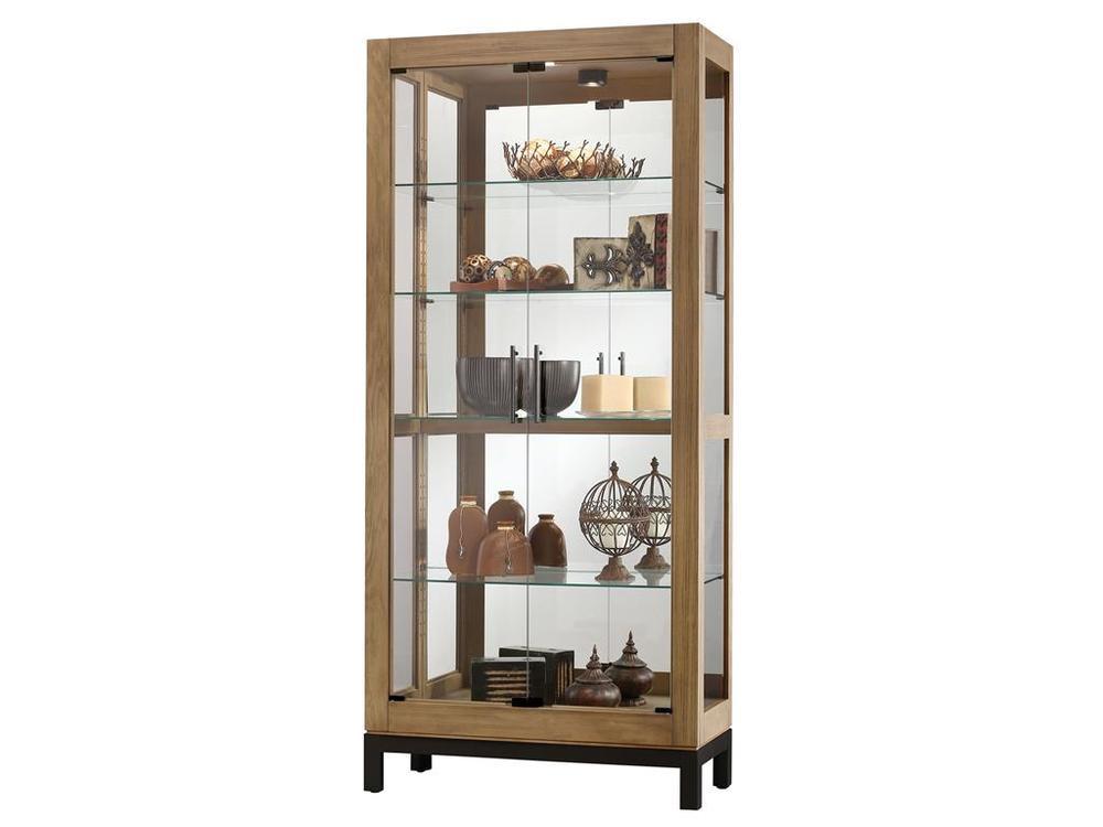 Howard Miller Clock - Quinn Curio Cabinet