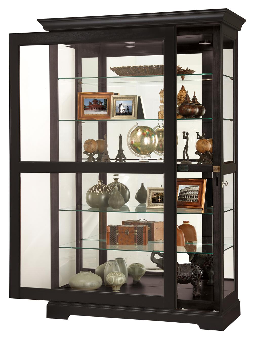 Howard Miller Clock - Kane II Curio Cabinet