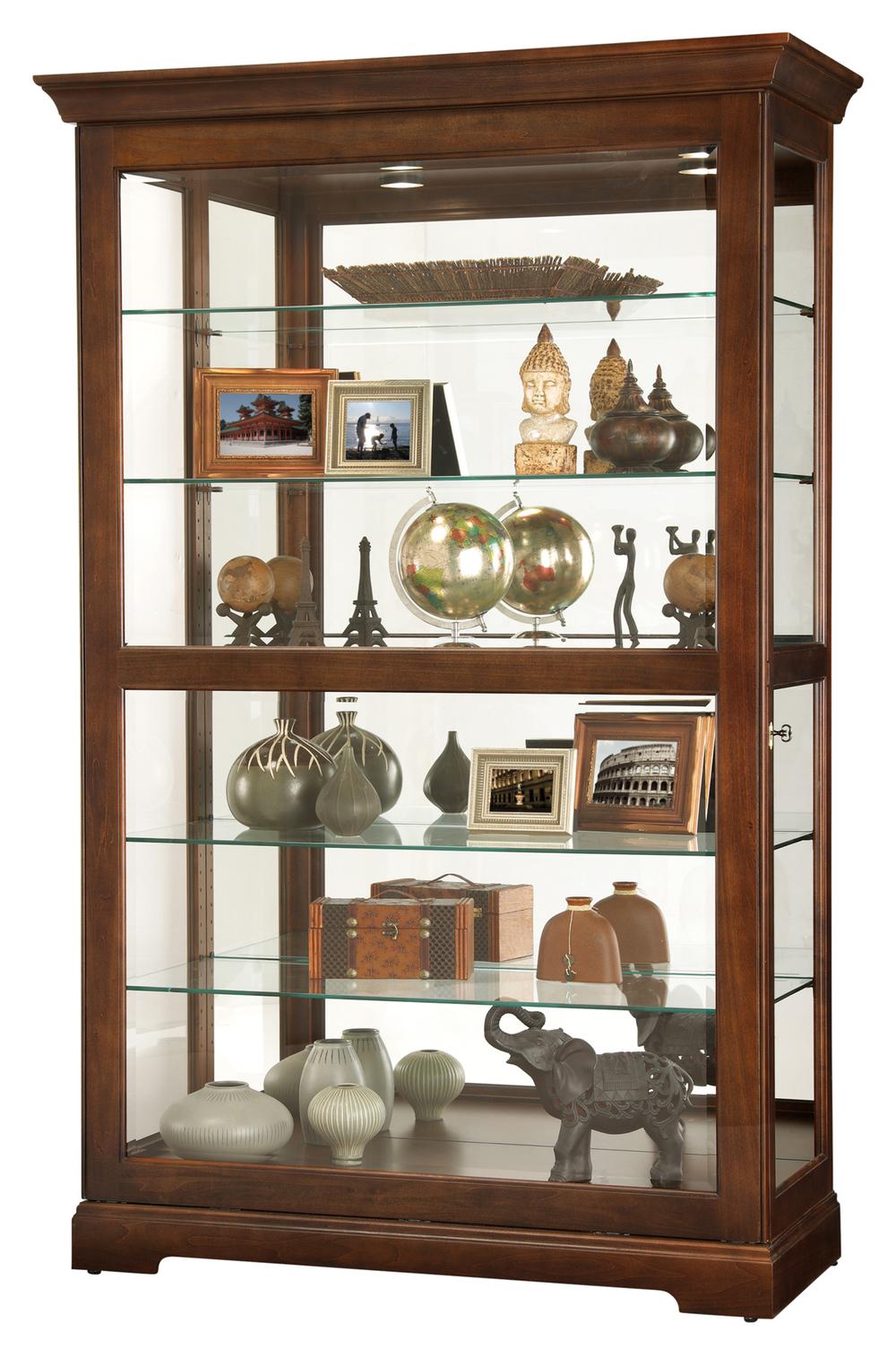 Howard Miller Clock - Kane Curio Cabinet