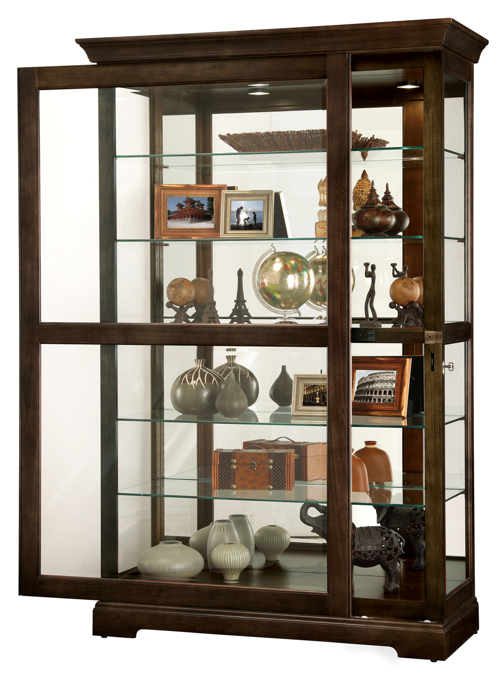 Howard Miller Clock - Kane III Curio Cabinet