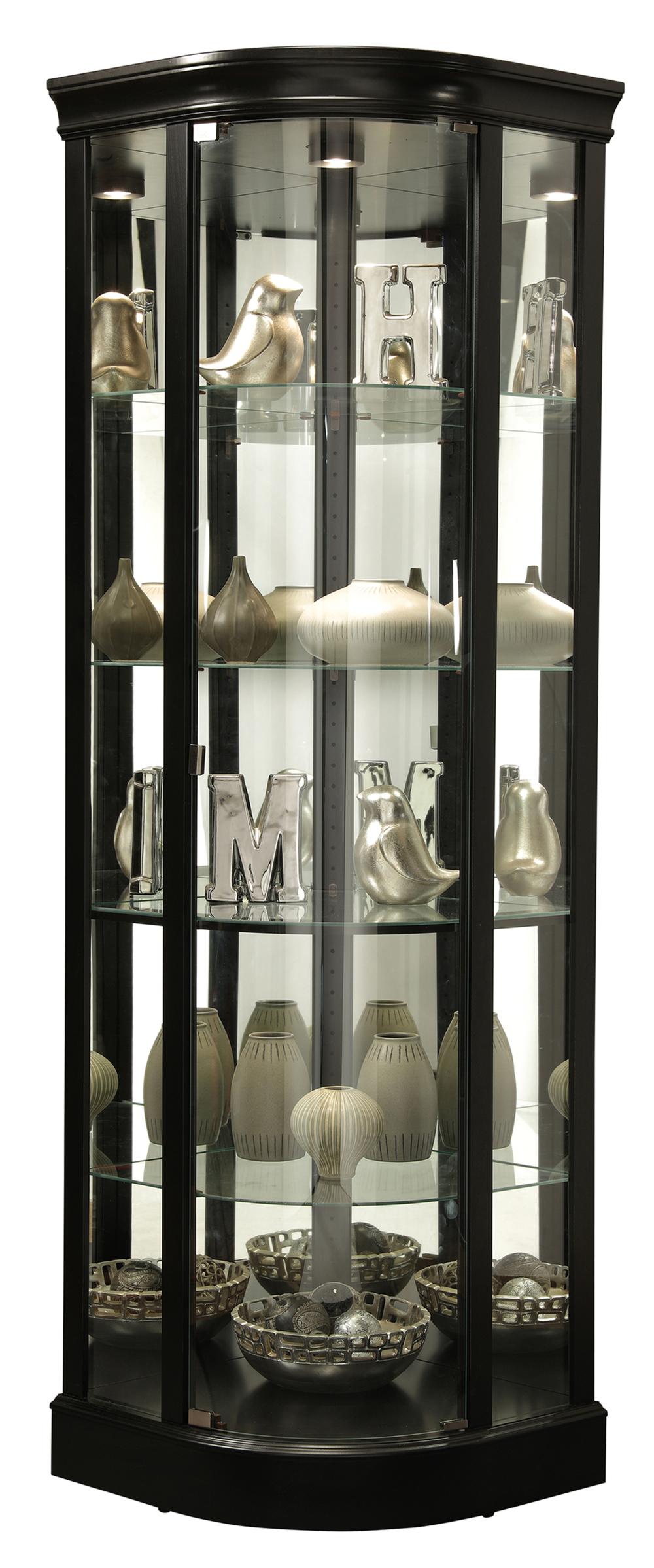 Howard Miller Clock - Marlowe II Curio Cabinet