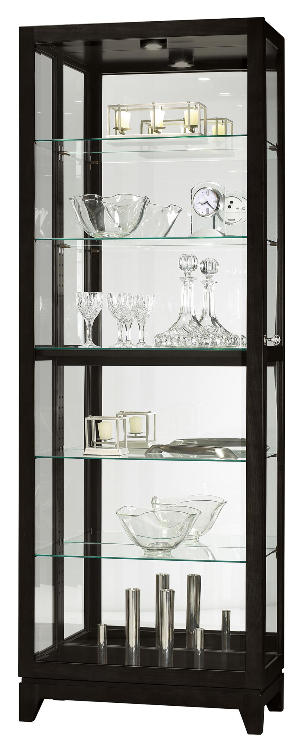 Howard Miller Clock - Luke IV Curio Cabinet