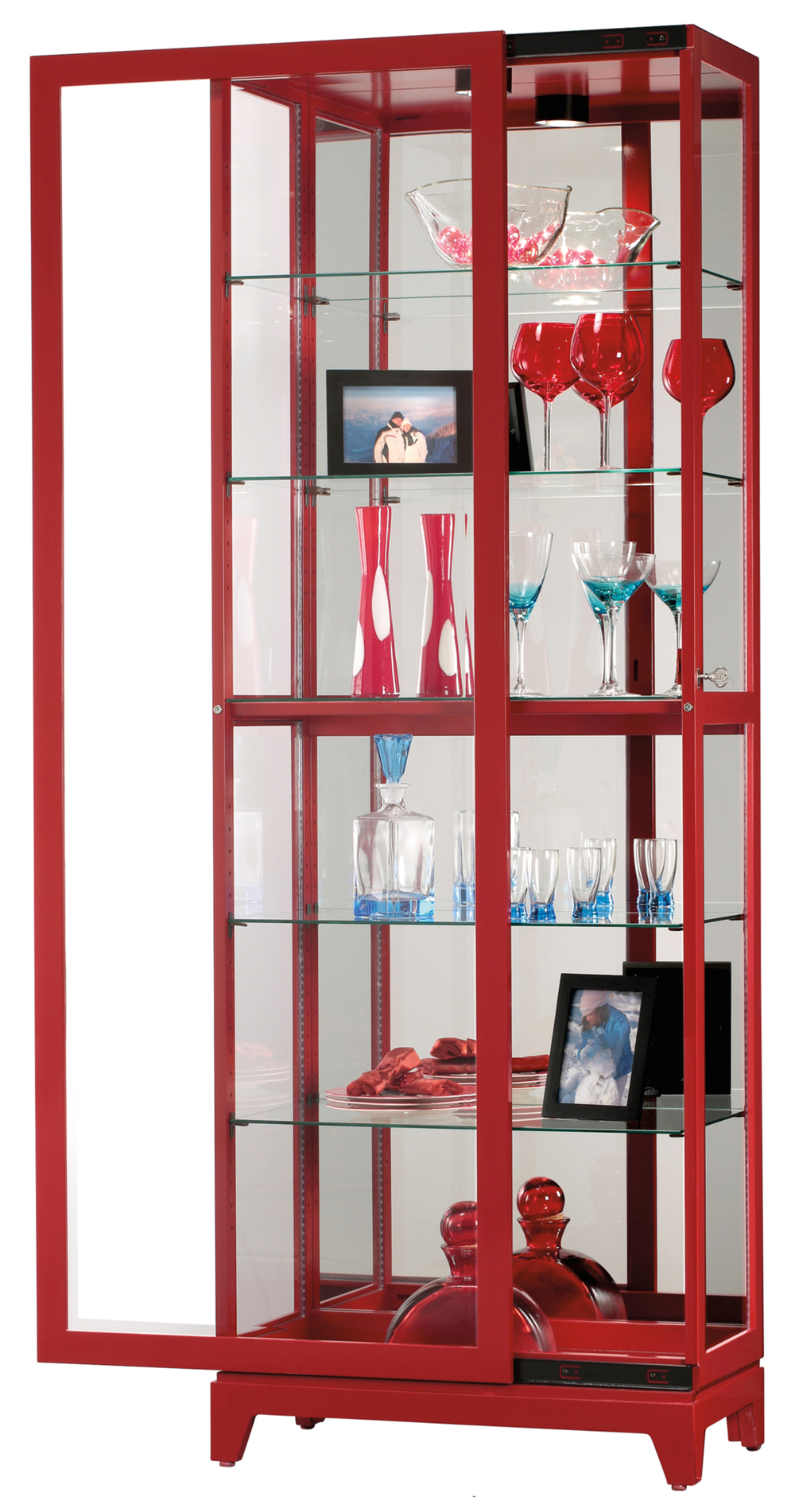 Howard Miller Clock - Luke V Curio Cabinet