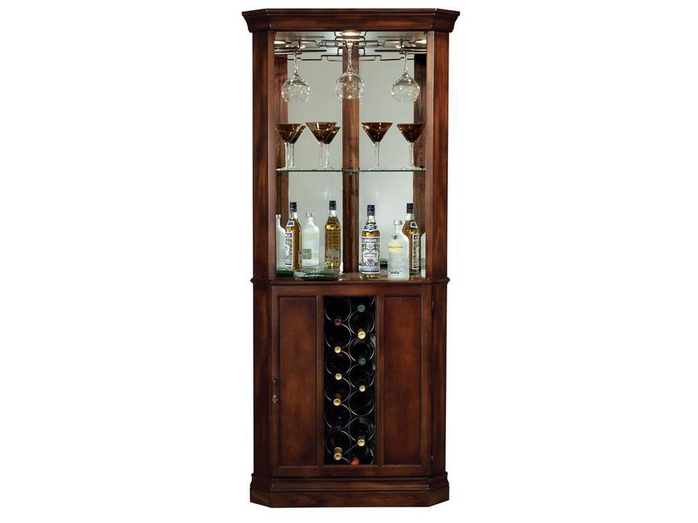 Howard Miller Clock - Piedmont Wine Cabinet