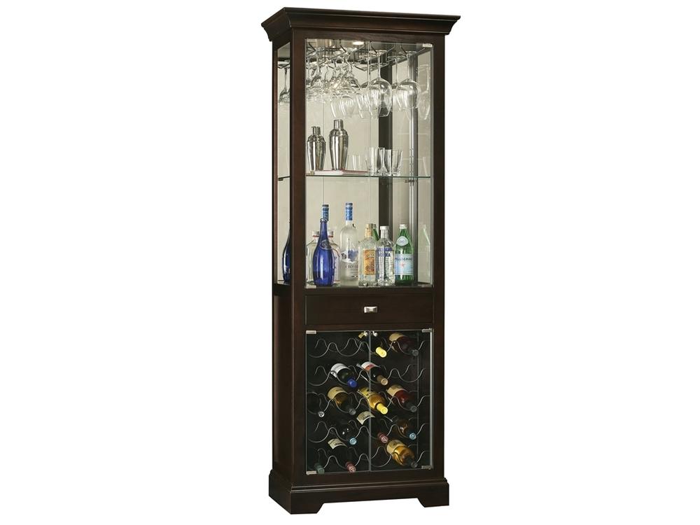 Howard Miller Clock - Gimlet Wine Cabinet