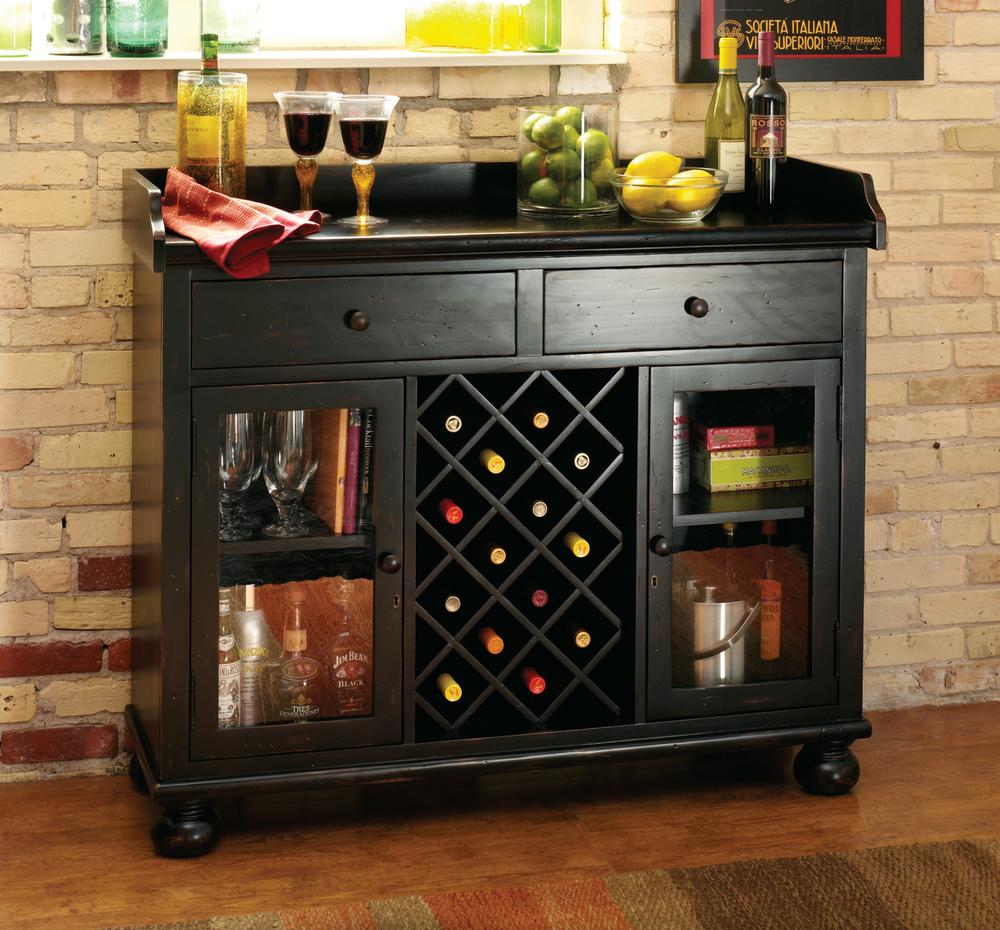 Howard Miller Clock - Cabernet Hills Wine Cabinet