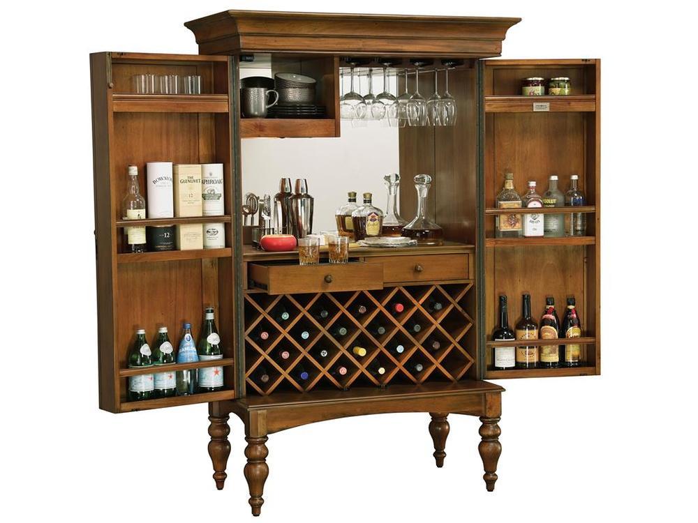 Howard Miller Clock - Toscana Wine Cabinet