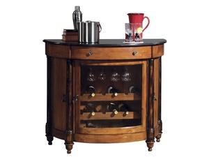 Thumbnail of Howard Miller Clock - Merlot Valley Wine Cabinet