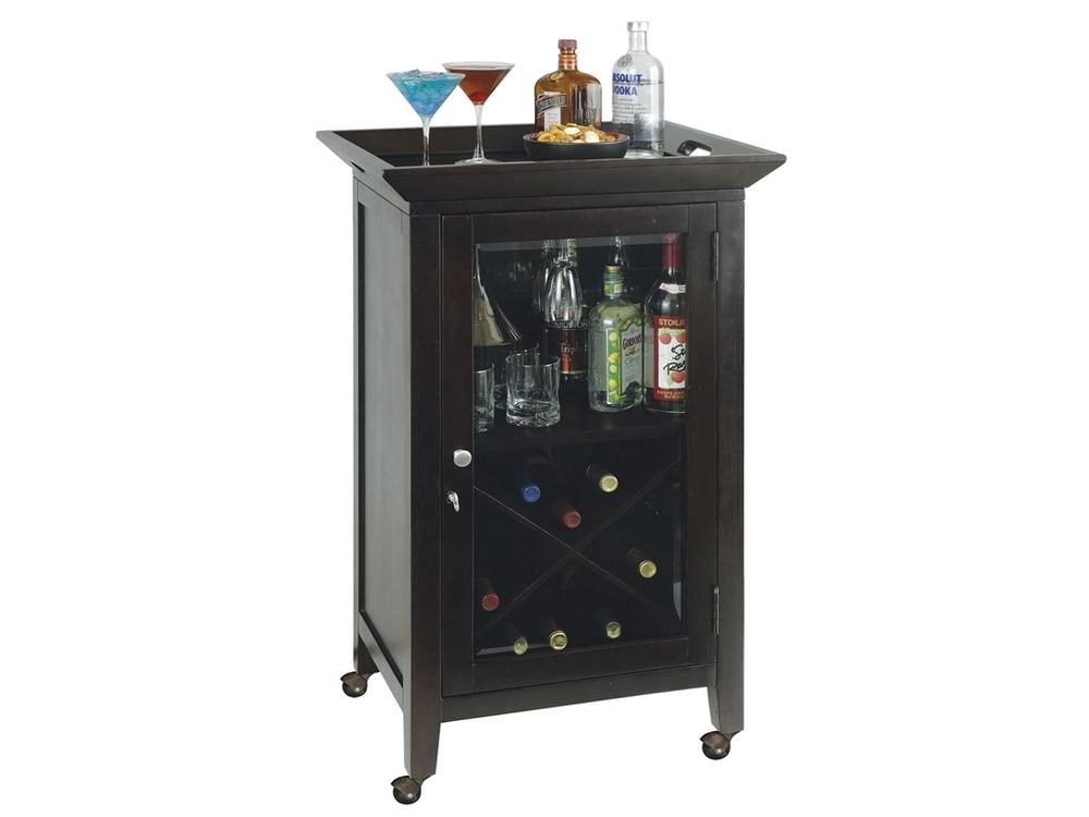 Howard Miller Clock - Butler Wine Cabinet