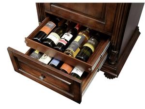 Thumbnail of Howard Miller Clock - Cognac Wine Cabinet